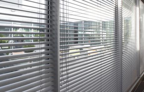Grey Aluminium venetian blinds