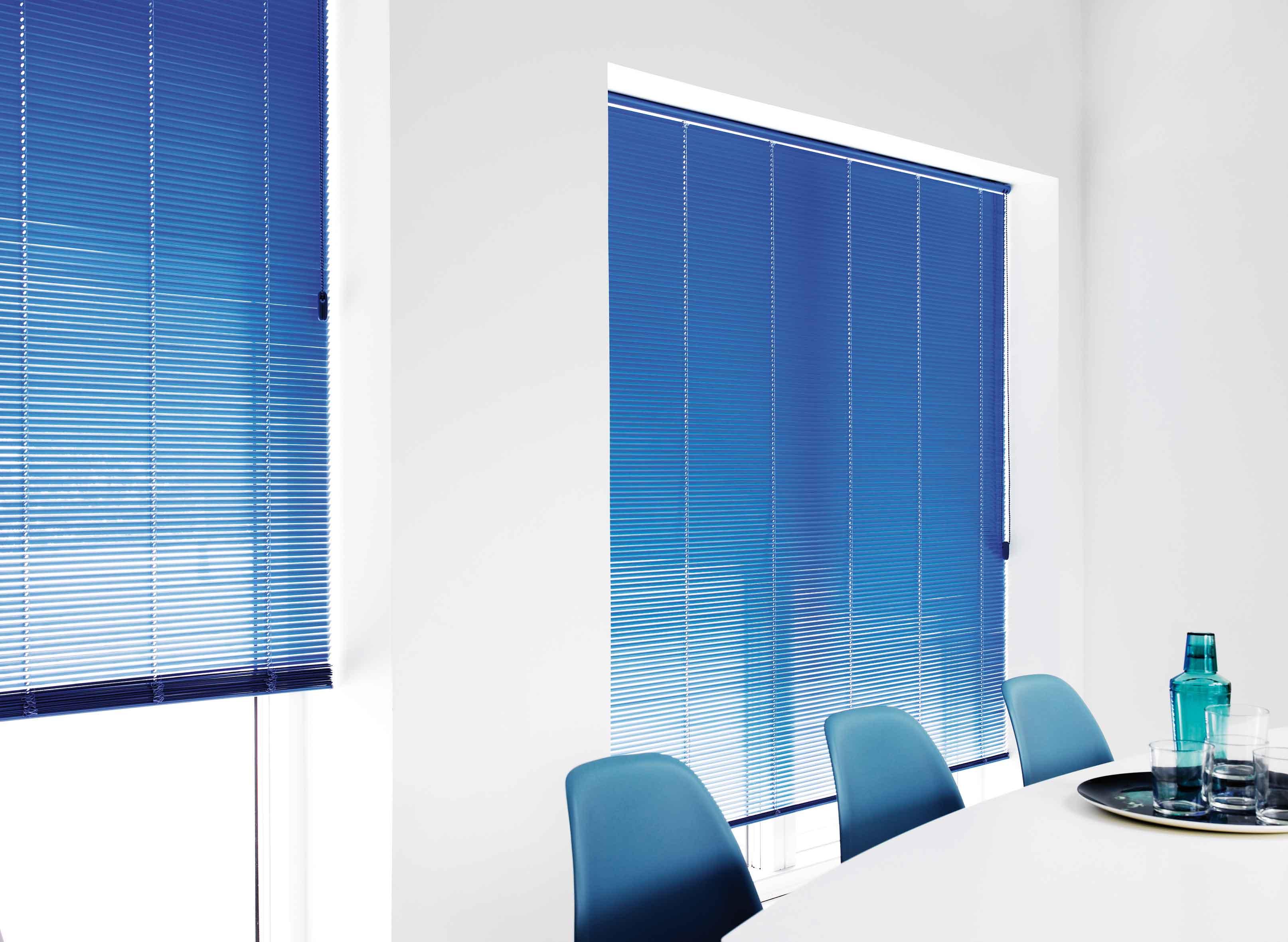 Blue Aluminium Venetian Blinds Tlc Blinds Cape Town Top
