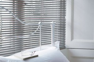 Grey Aluminium venetian blinds 3