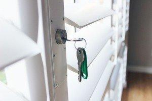 security Shutter lock