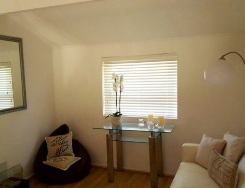 White Wood Venetian Blinds
