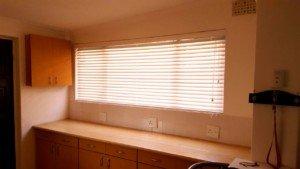 Kitchen Wooden Venetian Blinds Wide