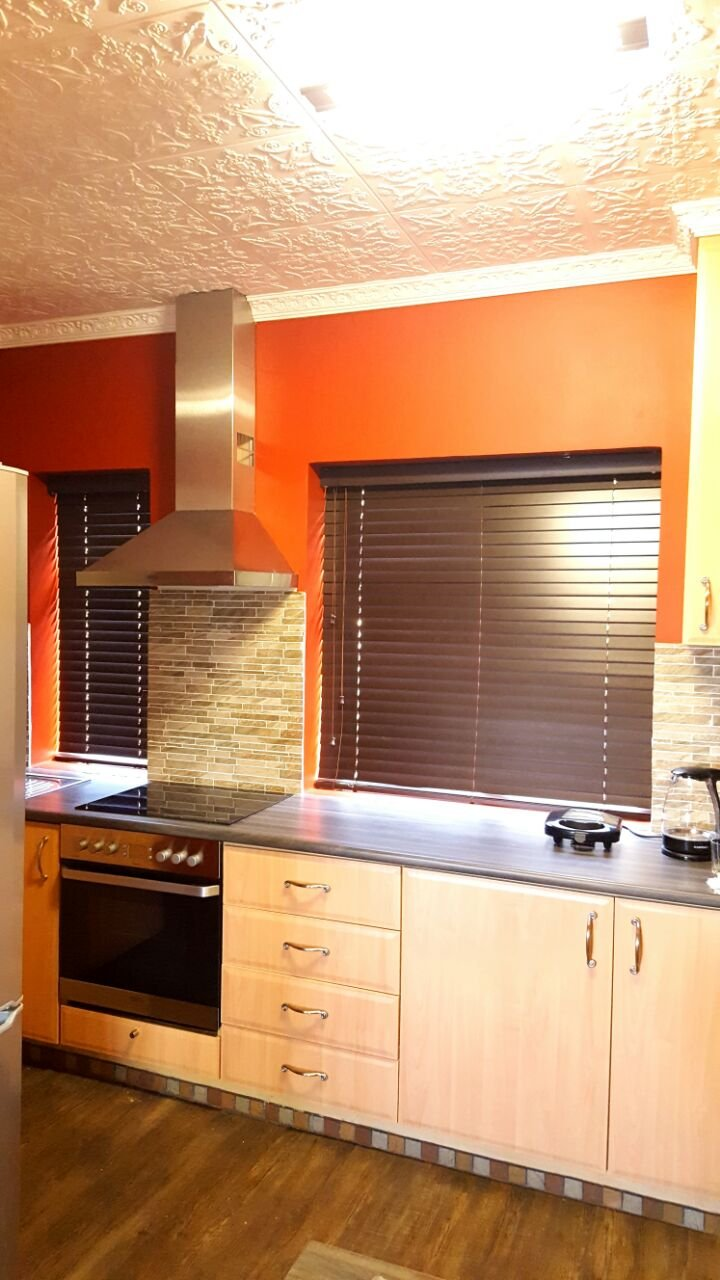 Dark Wood Venetian Blinds