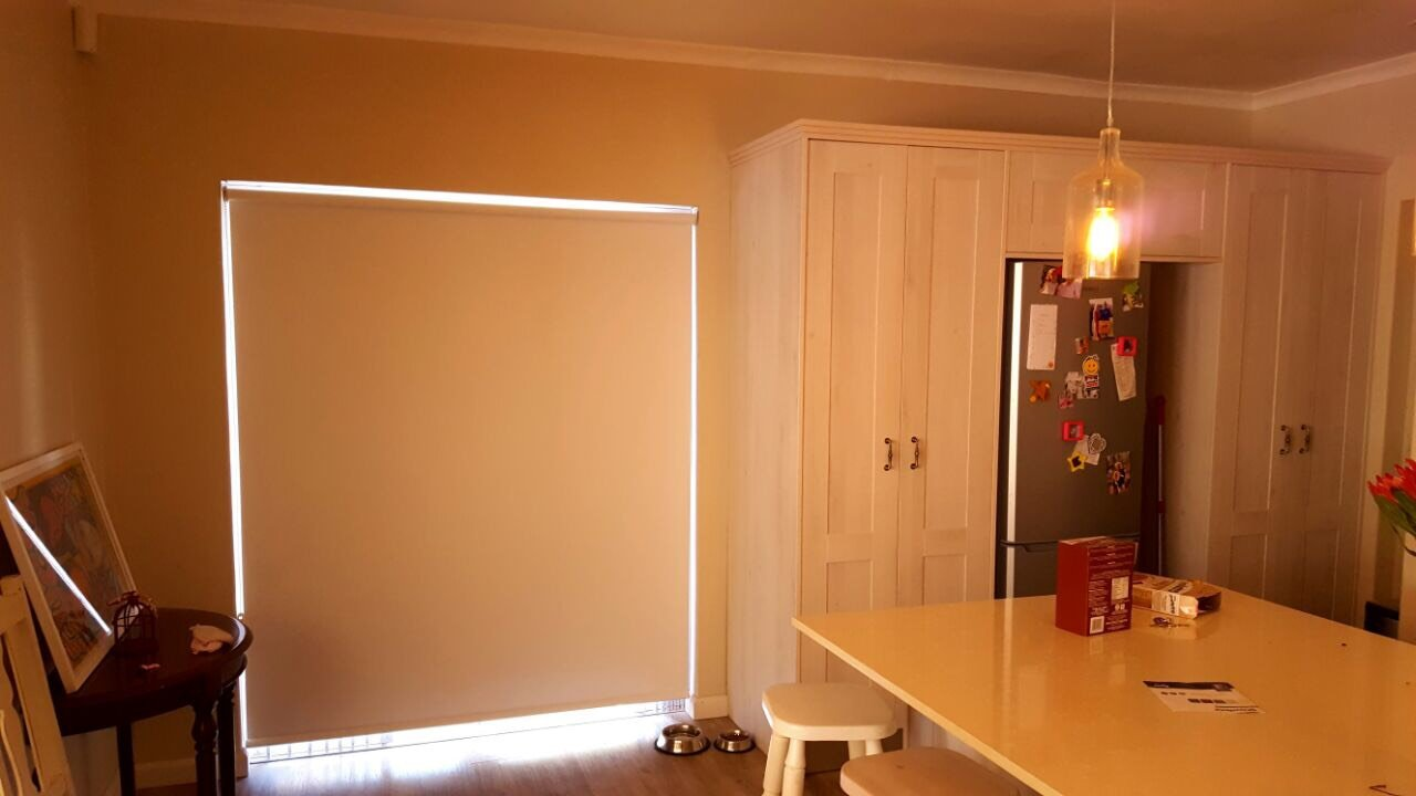 Block Out Roller Blinds Kitchen