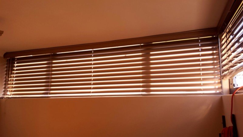 Gunmetal Grey Aluminium Blinds