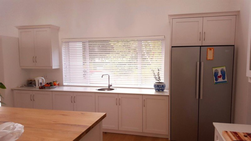 Whitewash Wood Venetian Blinds