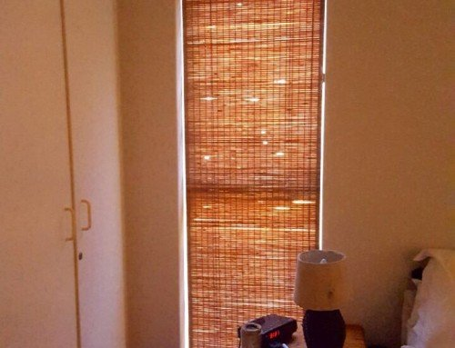 Bedroom Bamboo Roller Blinds