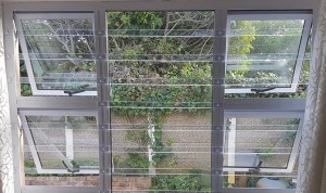 Clear Burglar Bars Cape Town Poly Bars TLC Blinds Cape Town
