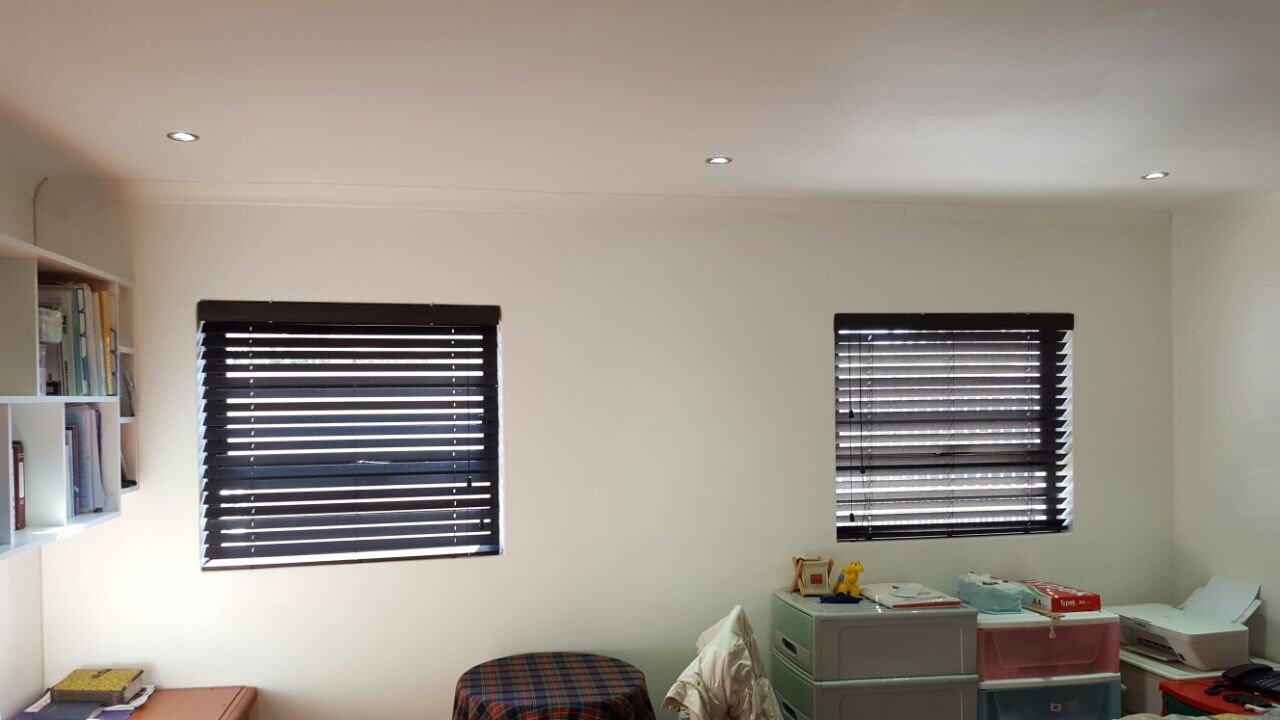 50mm Bamboo Venetian Blinds Black TLC Blinds Cape Town