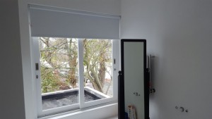 White blockout roller blinds TLC Blinds Cape Town