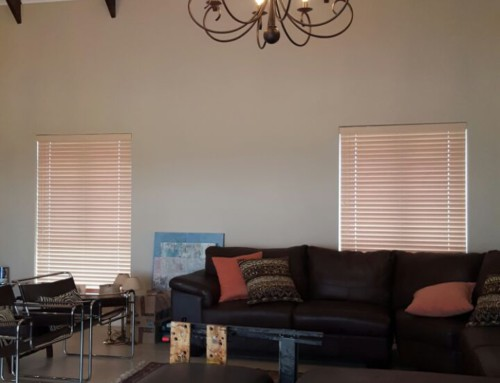 White Bamboo Venetian Blinds