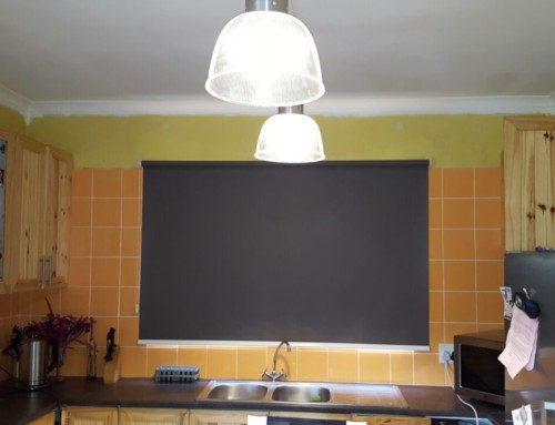 Black Blockout Roller Blinds