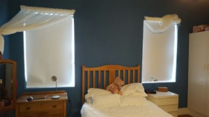 Blockout Roller Blinds White TLC Blinds Cape Town