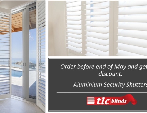 Aluminium Security Shutters on Special until 31 May 2018!