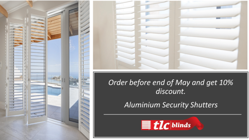 Aluminium Security Shutters Cape Town