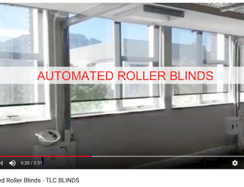 Automated Roller Blinds by TLC Blinds in action