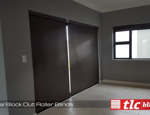 Charcoal Blockout Roller Blinds