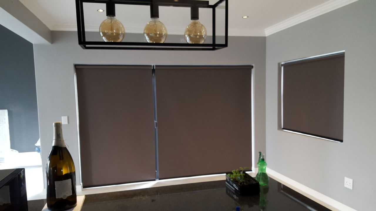 Charcoal Blockout Roller Blinds Company Cape Town TLC Blinds