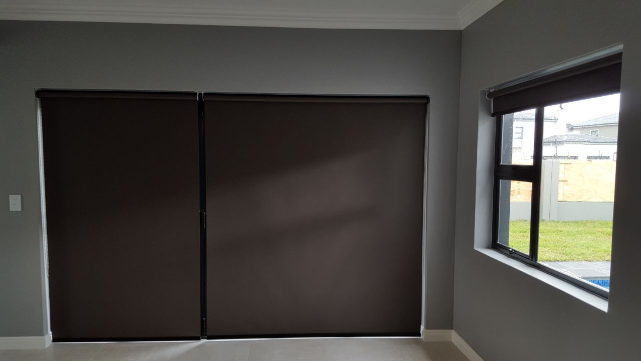 Charcoal Blockout Roller Blinds Company Cape Town TLC Blinds 6