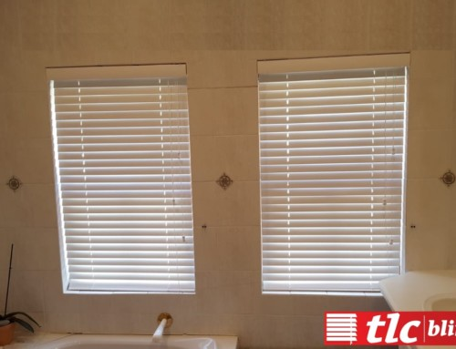 Bamboo Bathroom Blinds, Get yours at TLC Blinds