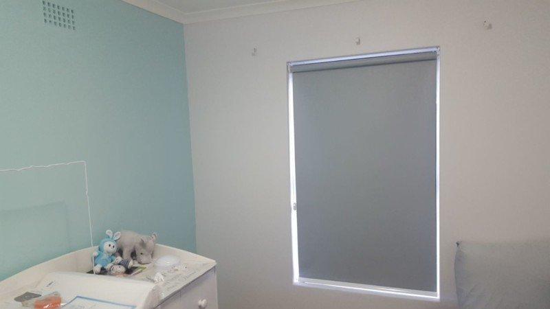 blockout roller blinds for the babys room