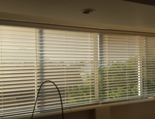 Set the tone of your room with a simple adjustment of your blinds