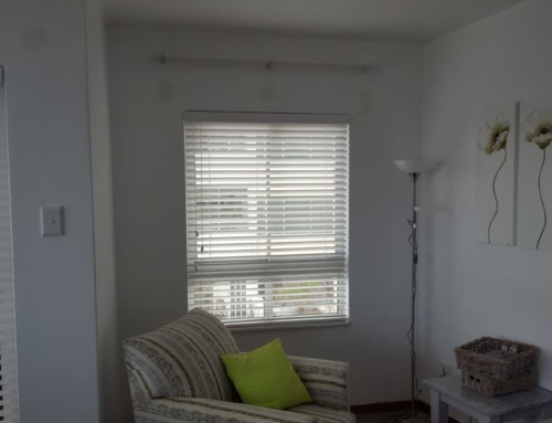 White Venetian Window Blinds