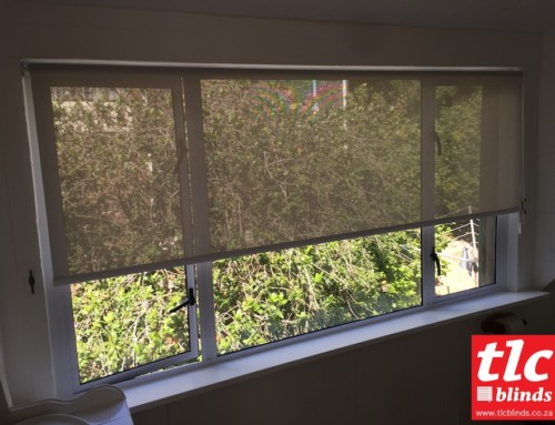 Recent Soft Steel Sunscreen Roller Blinds Installation