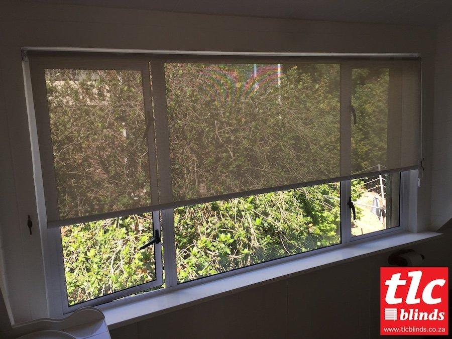 sunscreen roller blinds - soft steel - tlc blinds 3