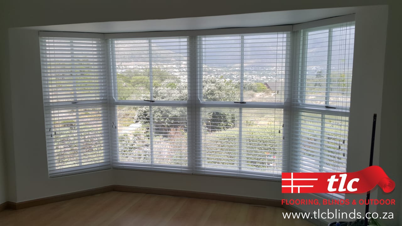 Bay Window Venetian Blinds Cape Town - TLC Blinds 1
