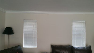 White Bass Wood Wooden Venetian Blinds - TLC Blinds