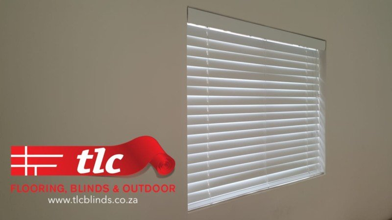 White Bass Wood Wooden Venetian Blinds - TLC Blinds 2