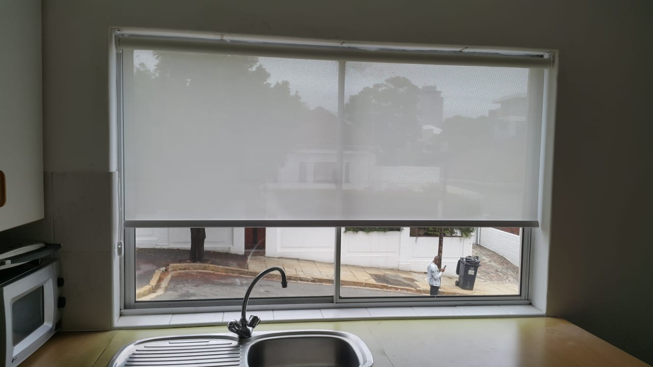 sunscreen roller blinds - kitchen blinds - tlc blinds cape town