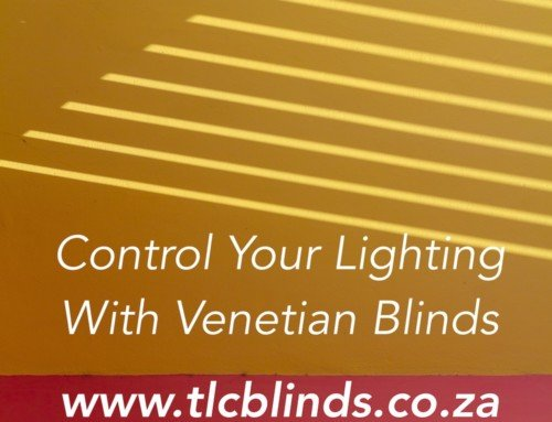 Control the lighting in your room with Venetian Blinds