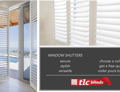 Try window shutter blinds for your home's protection and beauty