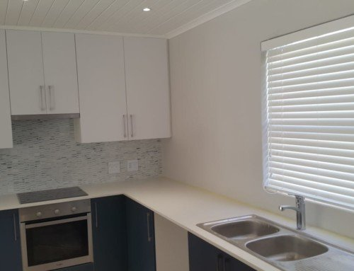 Bamboo Venetian Kitchen Blinds