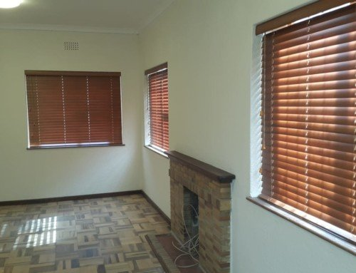 50mm Bamboo Venetian Blinds – Chestnut Colour