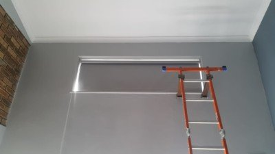 Roller blinds block out blinds ladder