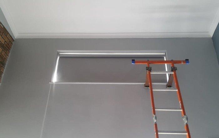Roller blinds block out blinds ladder