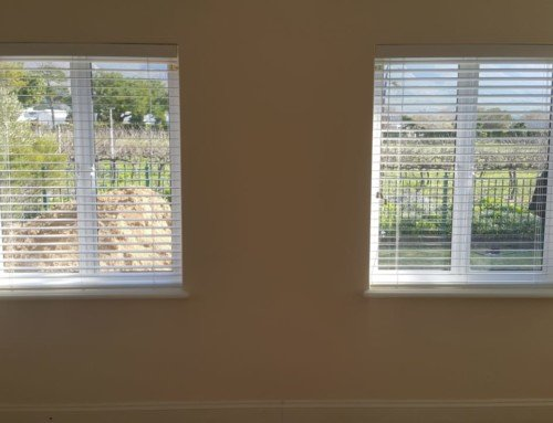 25 mm Aluminium Venetian Blinds July Installation