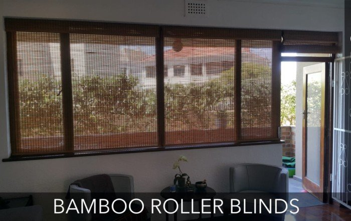 Bamboo Roller Blinds Cape Town 6a