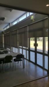 sunscreen roller blinds - soft grey - tlc blinds cape town
