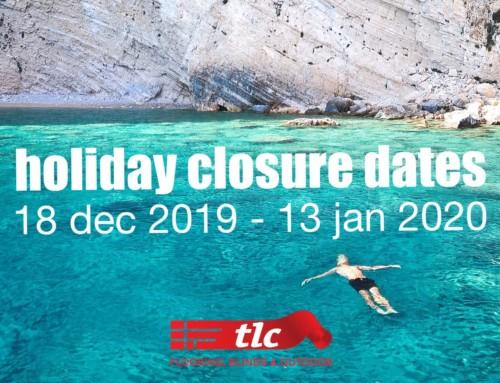 December Holiday Closure Dates