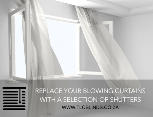 Control the summer heat and wind entering your home with window blinds.